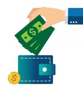 برای تبلیغات در گوگل باید کیف پول ارزی خود را شارژ کنید